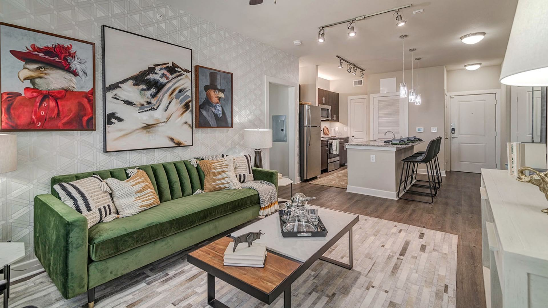 Wood-Style Flooring at Cortland Brackenridge Apartments*