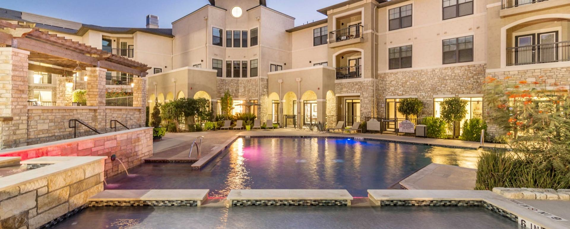 Resort-Style Pool and Sun Deck at Cortland Brackenridge Apartments