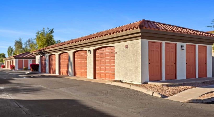 Detached Garages Available at Cortland Chandler Crossing Apartments
