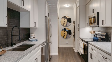Designer finishes at our upscale apartments in Cypress, TX