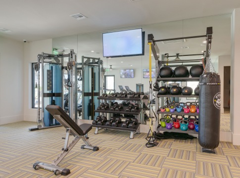 Apartments with a Fitness Center
