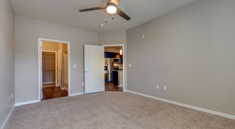 Renovated Bedrooms with Ceiling Fans