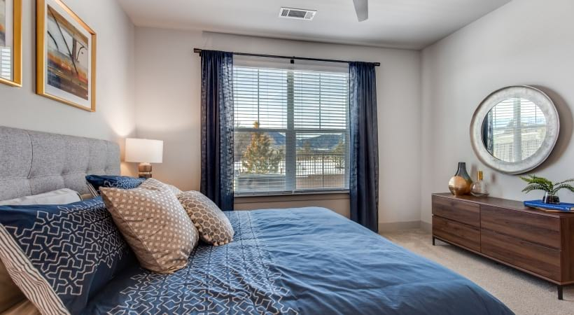 Spacious Bedroom At Cortland Grand River