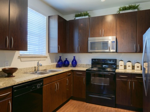 Kitchen at Our Clear Lake Apartments