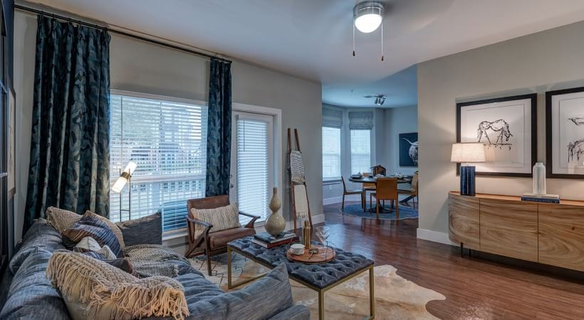 Spacious floor plan at apartments in League City