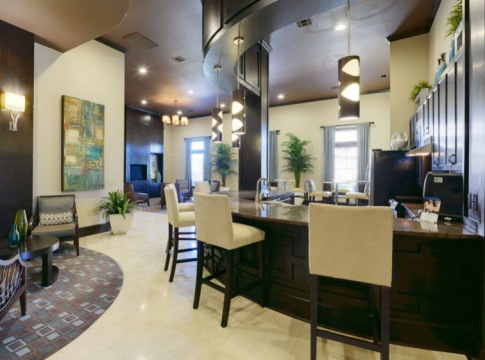 Resident Lounge At Our Clear Lake Apartments