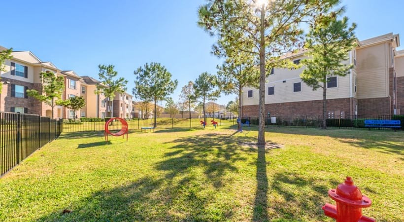 Pet friendly apartments with dog park