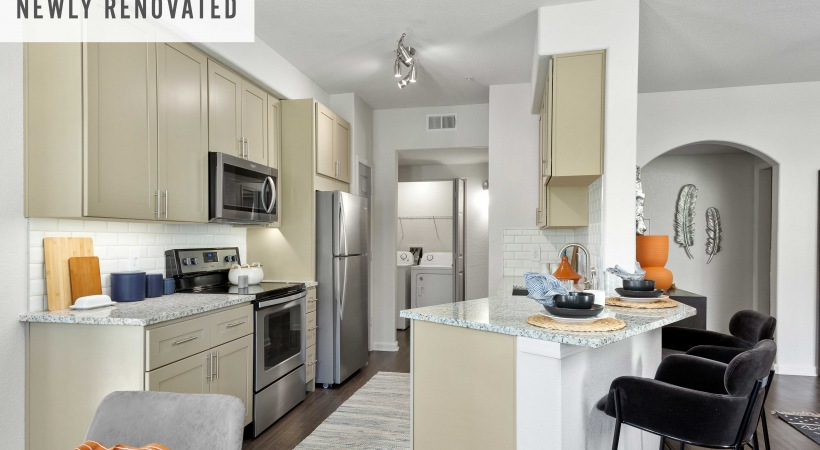Renovated Kitchen with Stainless Steel Appliances*