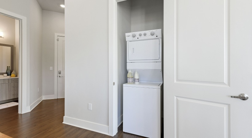 Our NoDa apartments with washer and dryer