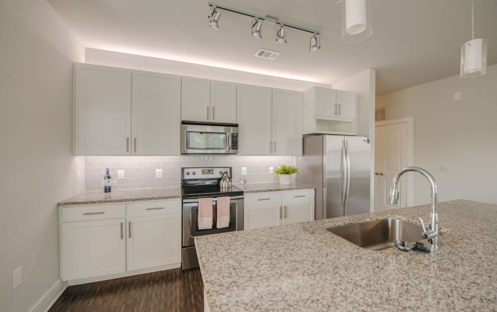 Spacious Kitchens with Island