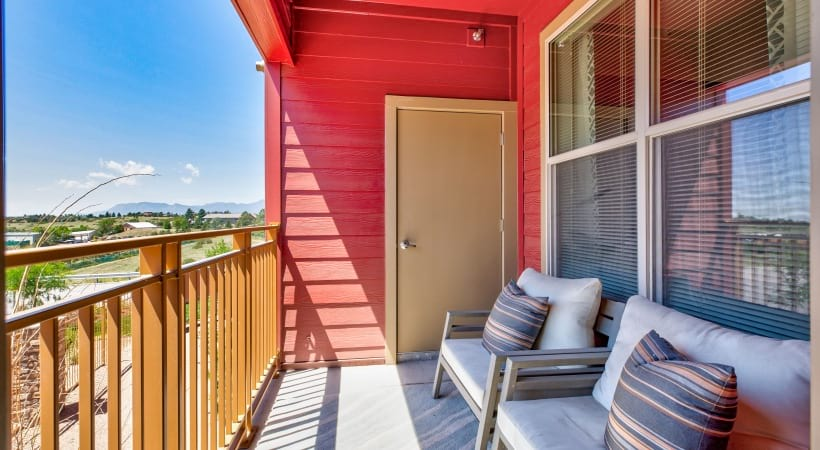 Apartments with balcony in Colorado Springs, CO