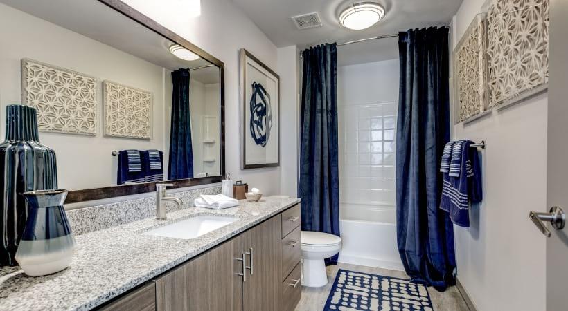 Bathrooms with Sleek Granite Countertops
