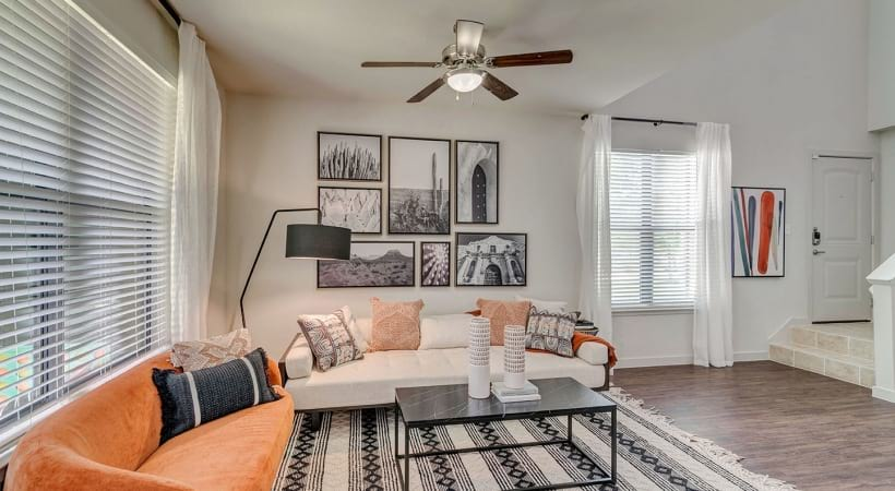 Ceiling Fans in Living Rooms
