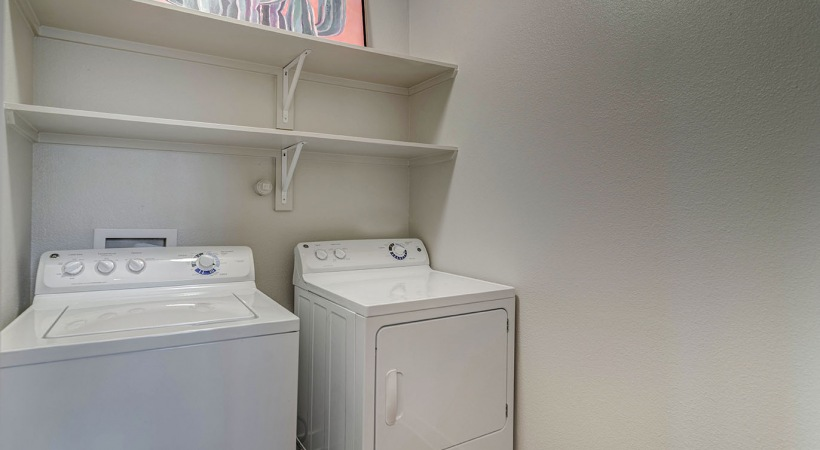 In-Home, Full Size Washer and Dryer*