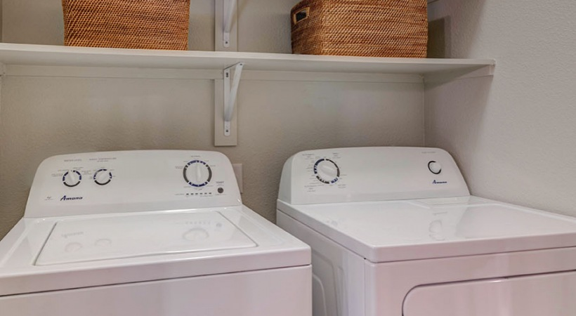 In-Home, Washer and Dryer