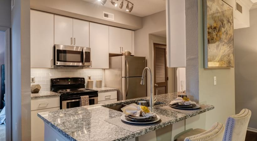 Cortland at RTP Renovated Kitchen