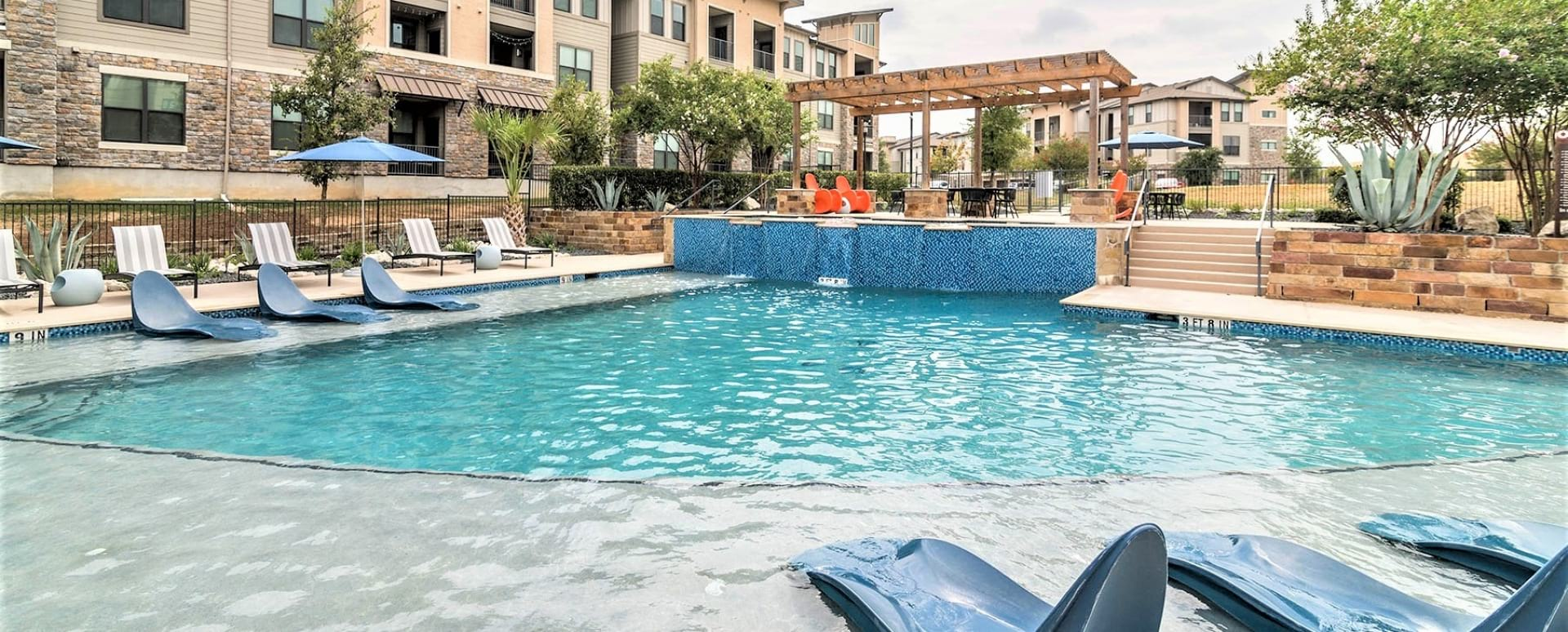 Resort-Style Pool and Sun Deck at Cortland Walker Ranch