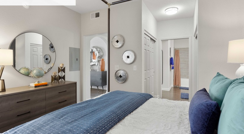 Renovated Bedroom with Ceiling Fans*