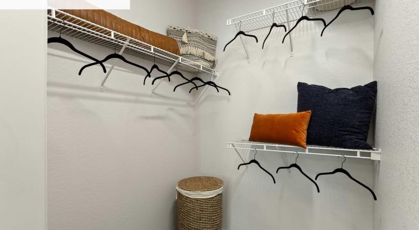 Renovated Walk-In Closet*