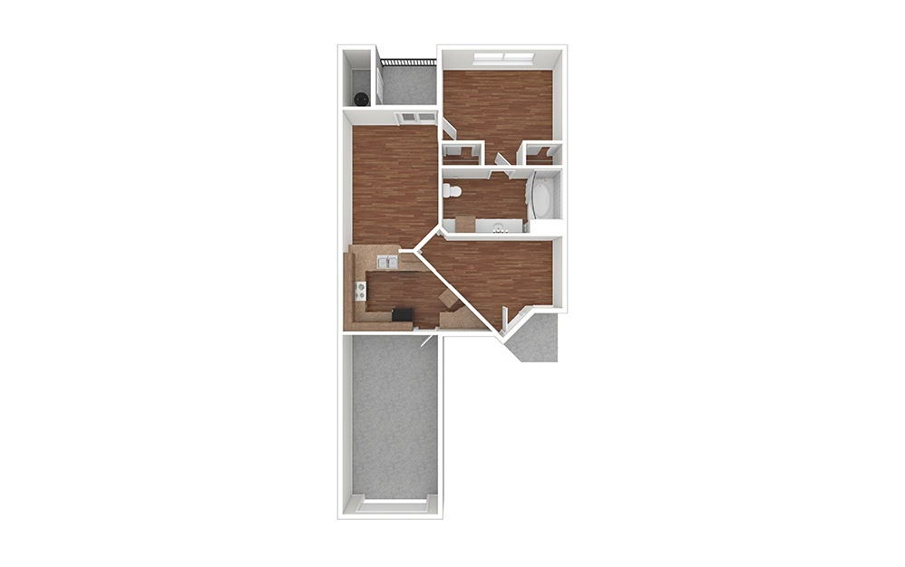 1AT Classic Unfurnished Rendering   Raven