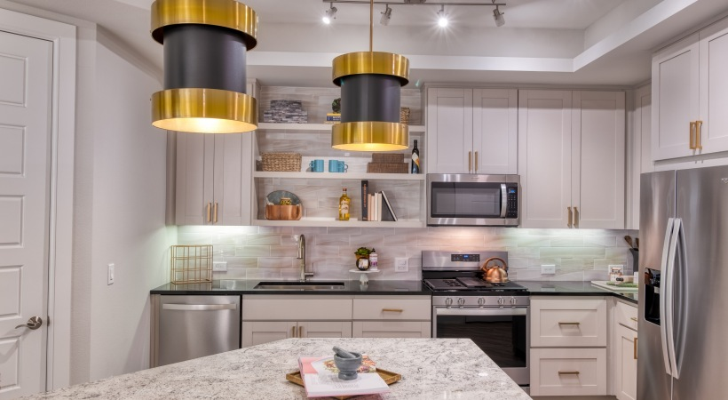 Gas Stovetop Ranges at Cortland Biltmore Apartments