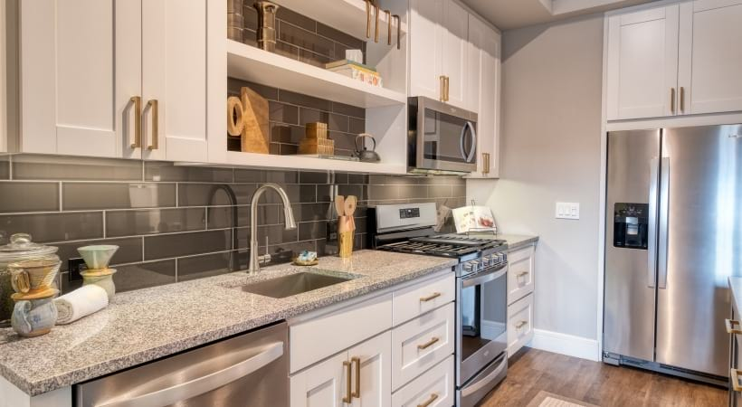 Energy-Efficient, Stainless Steel Appliances at Cortland Biltmore Apartments