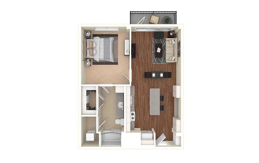 A1 Furnished Rendering | Biltmore