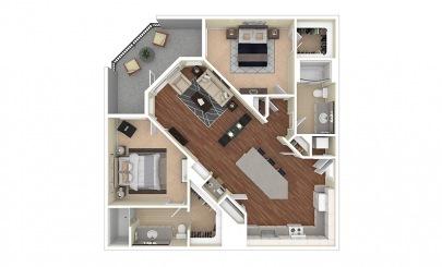 Floor Plans Camelback Apartments Cortland Biltmore