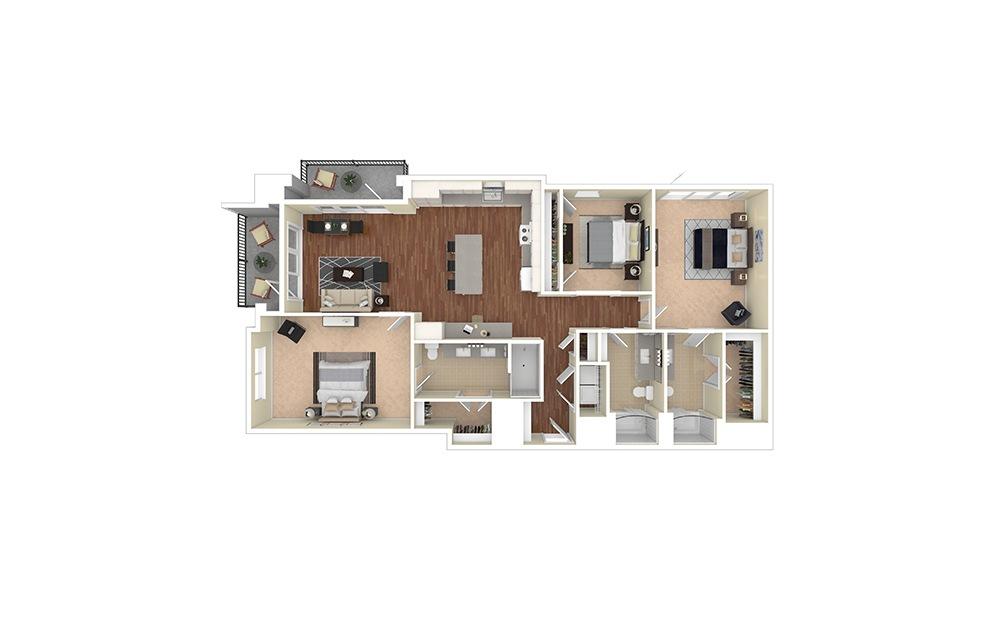 B5 Furnished Rendering | Biltmore