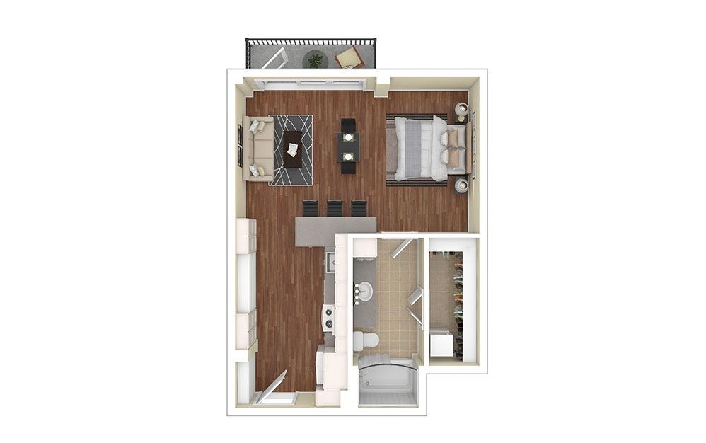 S1 Furnished Rendering | Biltmore