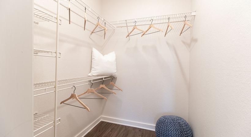 Spacious, Walk-In Closets at Cortland Desert Ridge Apartments