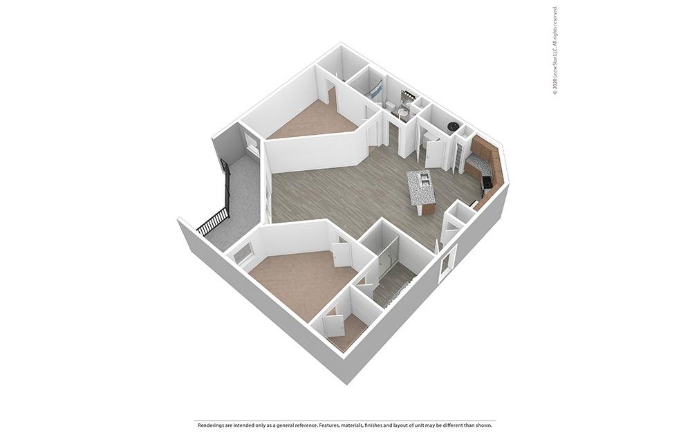 Unfurnished B4 Floor Plan