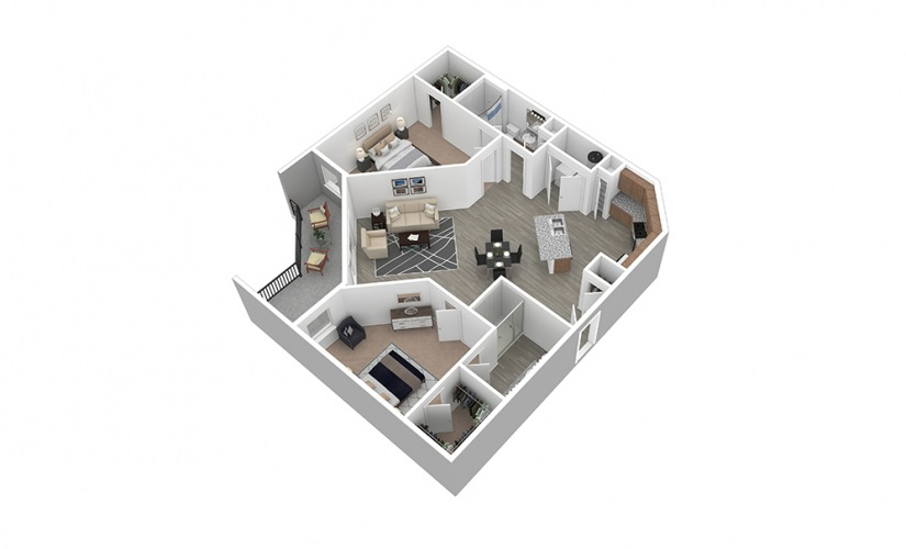 B4 Floor Plan Thumbnail