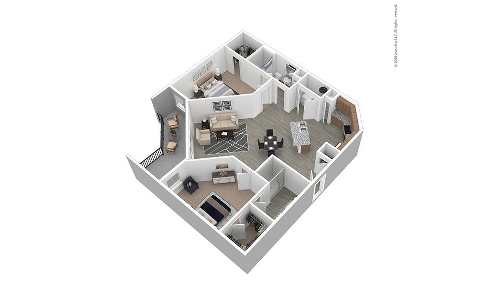 Furnished B4 Floor Plan