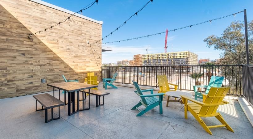 Our Fillmore apartments with rooftop and scenic views