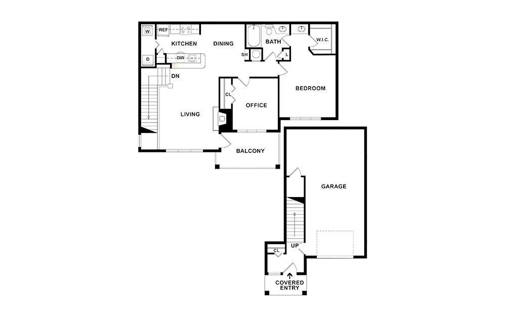 Holly Floor Plan