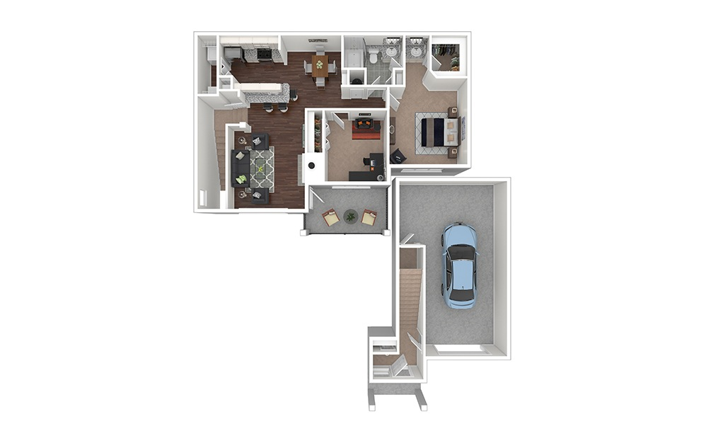 Holly Furnished Rendering