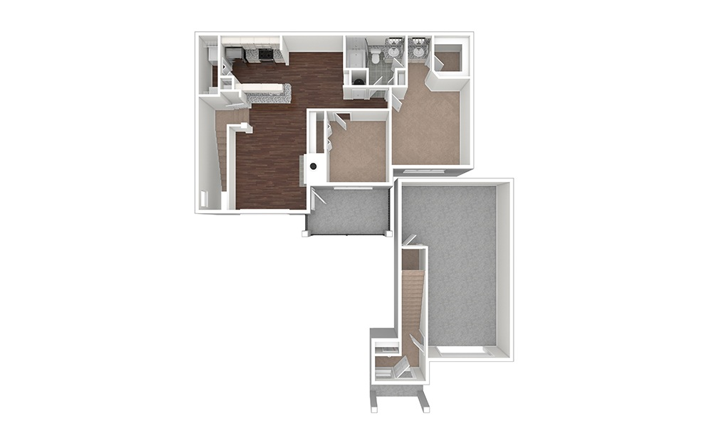 Holly Unfurnished Rendering