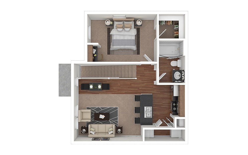 A2 Furnished View | Lakemont