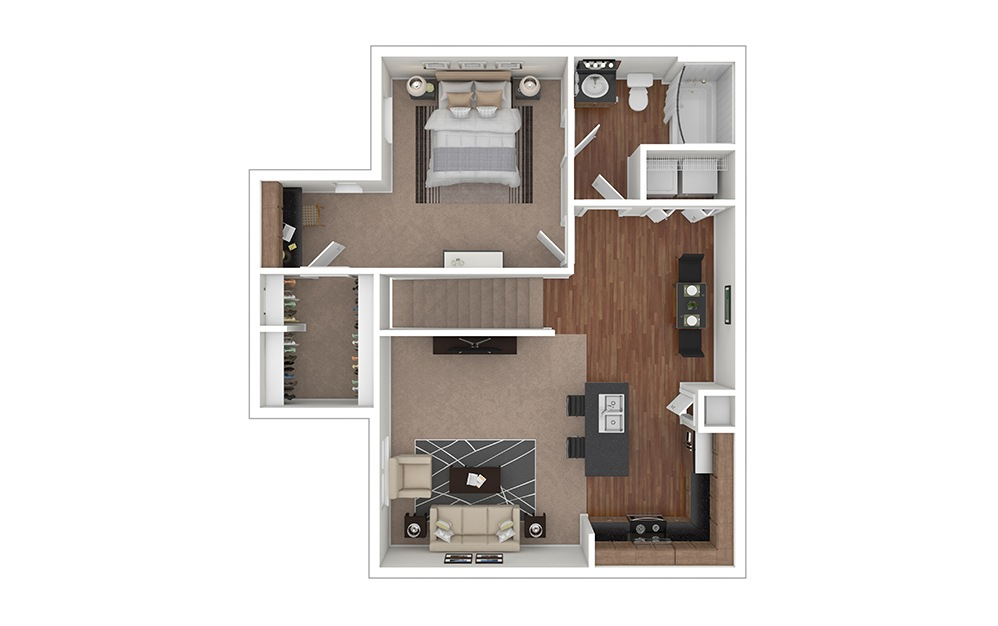 A4 Furnished View | Cortland Lakemont