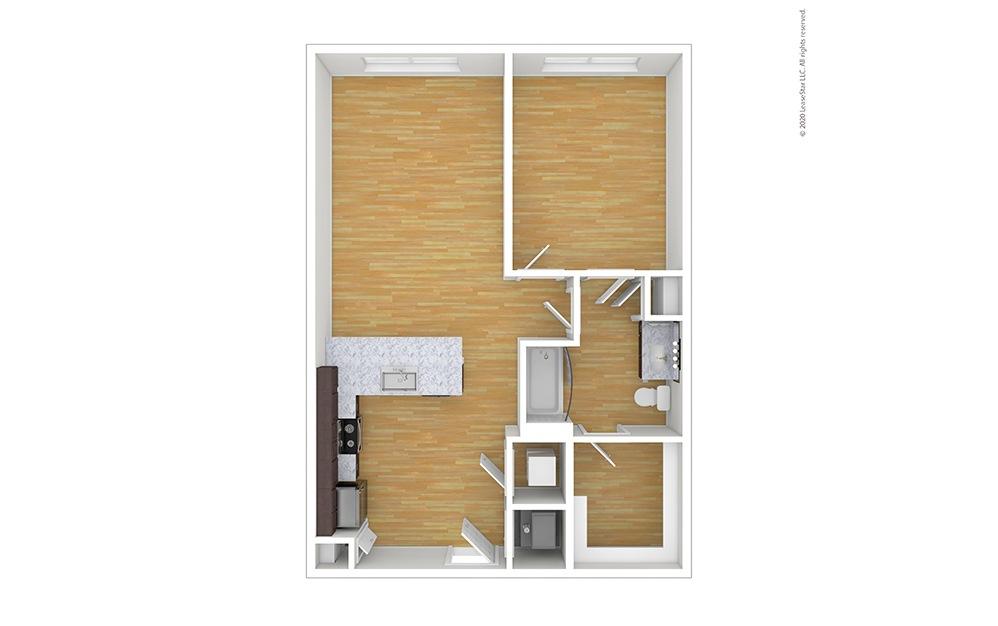 Collins Floor Plan Unfurnished