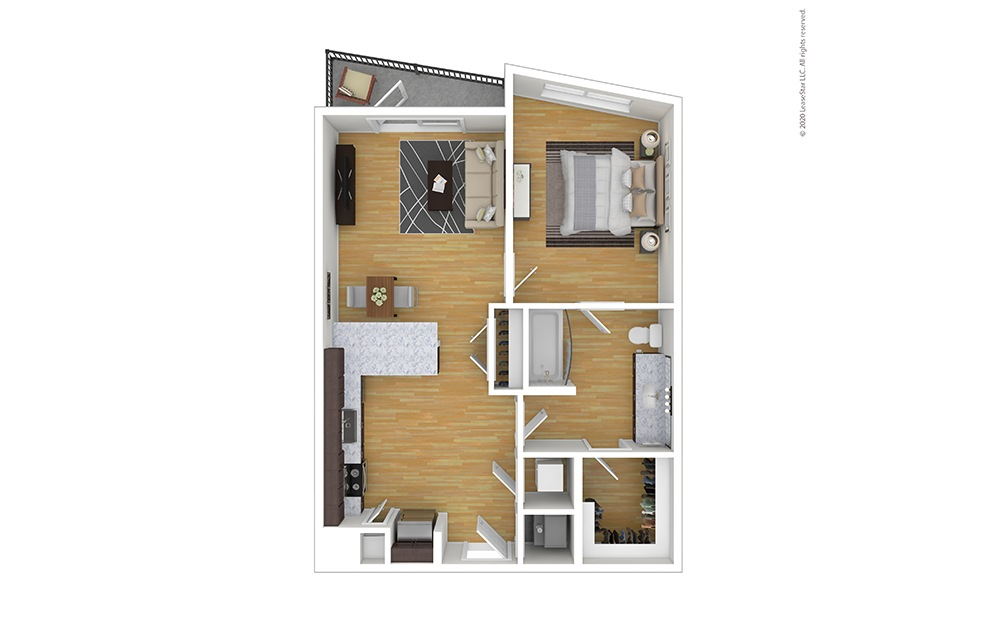Furnished Germuth Floor Plan