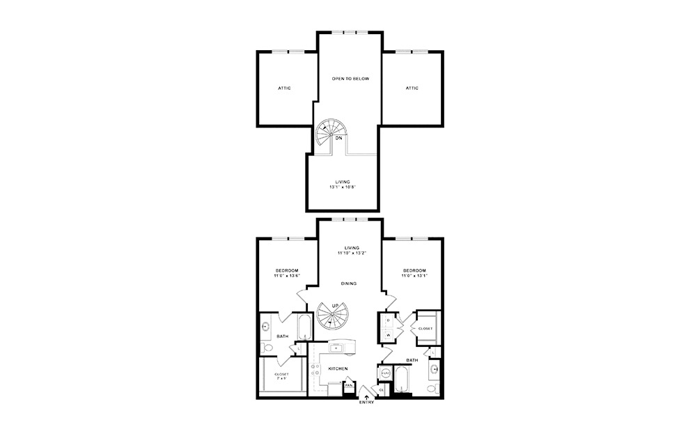 Juniper Layout Loft