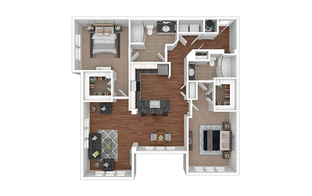 Orchid 2 Furnished Rendering