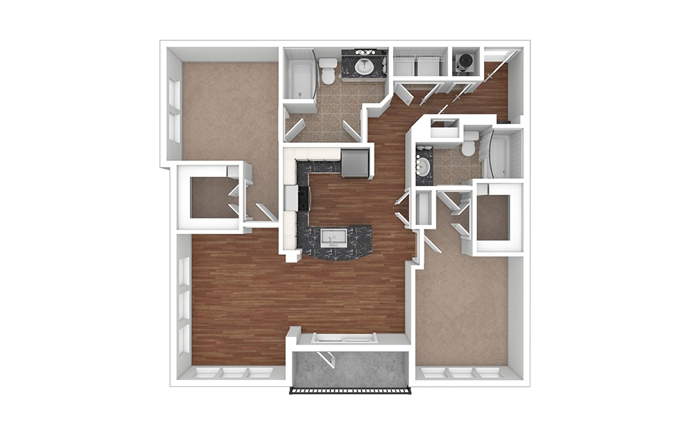 Orchid Unfurnished rendering