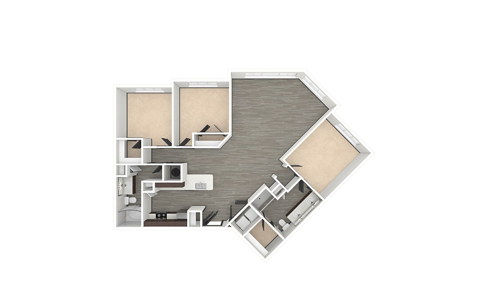 C4 Unfurnished Rendering | Philips Creek Ranch