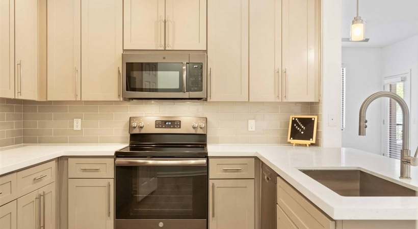 New Cabinetry with Designer Hardware