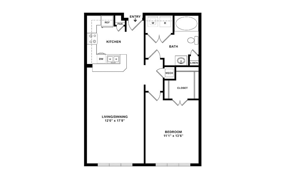 Bellaire II Midrise Layout