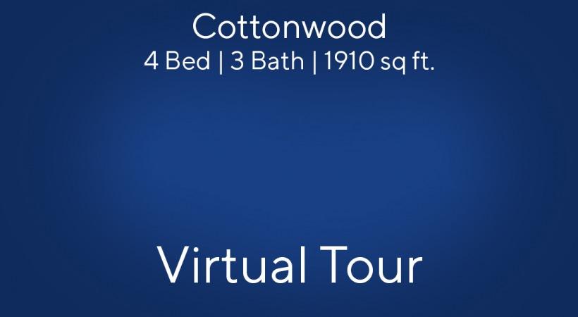 Cottonwood Floor Plan, 4bed/3bath, 1910 sq ft