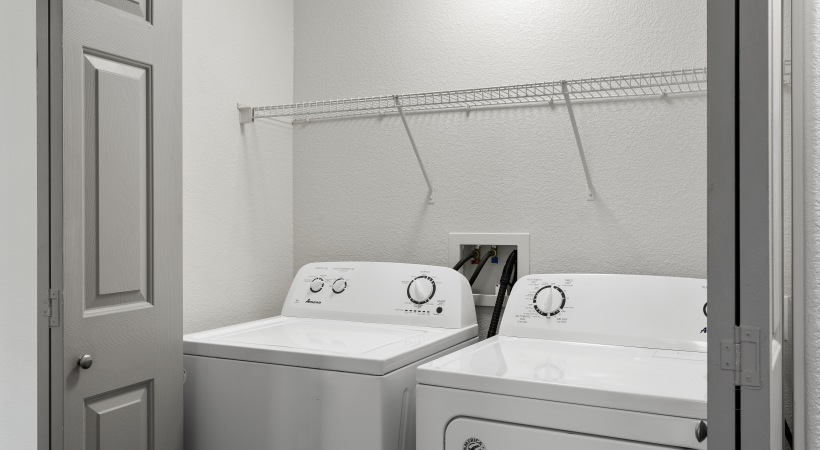 Our Papago apartment with washer and dryer